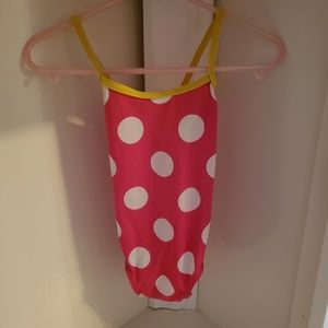 Retro Girls Swim Suit Sz 2T
